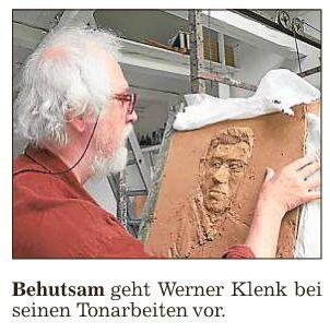Werner Klenk - Auge in Auge mit seinen Werken